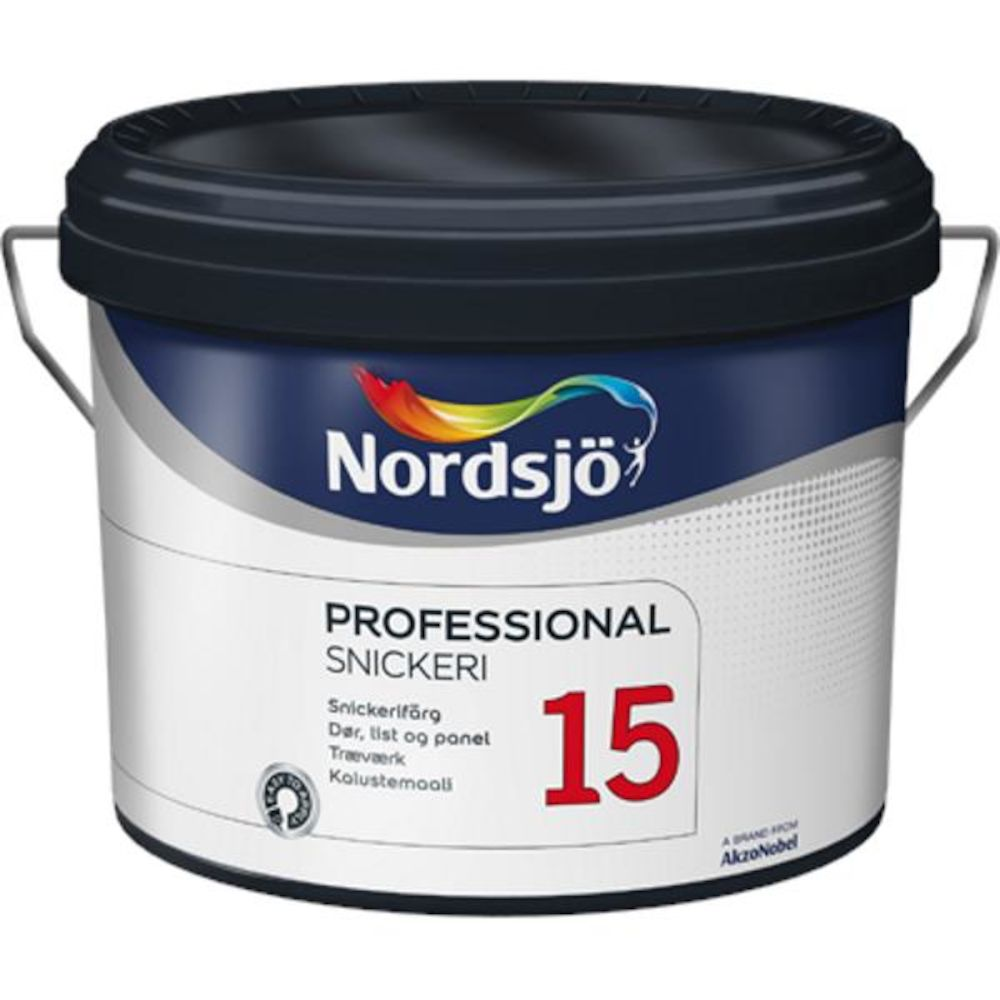 Nordsjø Pro Dør/List 15 Medium - base 2,5 l