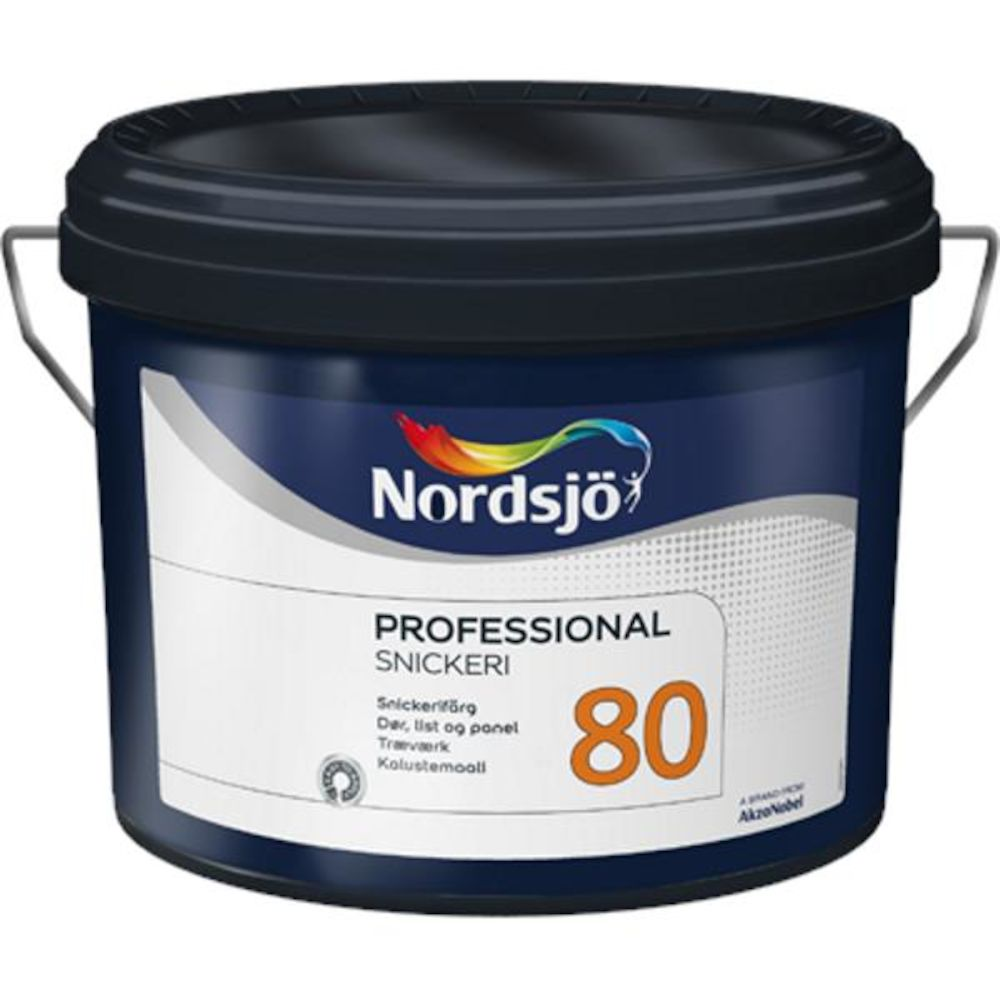 Nordsjø Pro Dør/List 80 Clear - base 2,35 l
