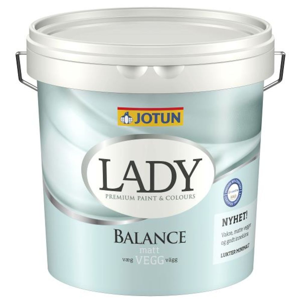 Lady Balance Hvit - base 2,7 l