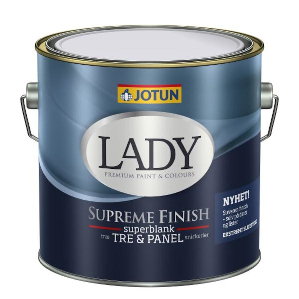 Lady Supreme Finish 80 C - base 2,7 l