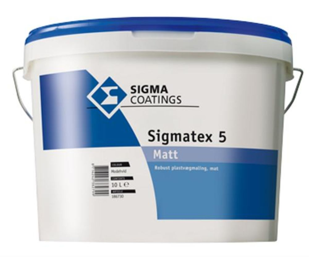 Sigmatex 5 Matt Ln - base 10 l