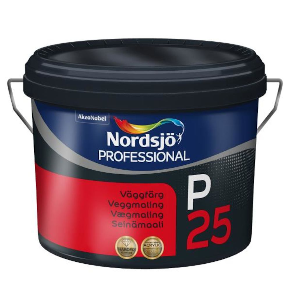 Nordsjø Pro Tak/Vegg P25 Medium - base 4,75 l