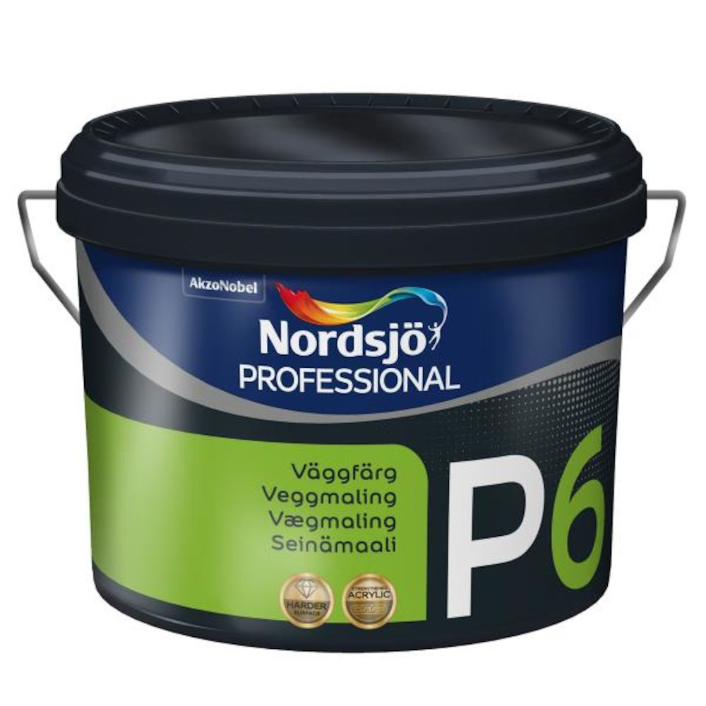Nordsjø Pro Tak/Vegg P6 Medium - base 9,5 l