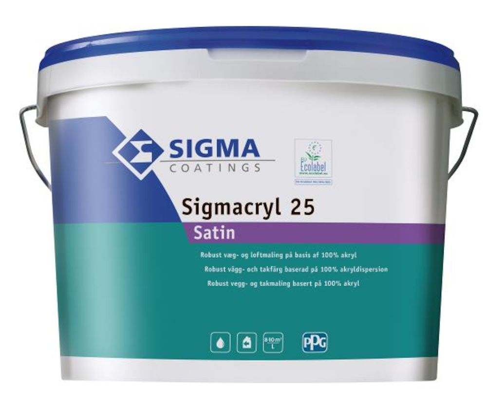 Sigma Coatings Sigmacryl 25 ZN 10 l